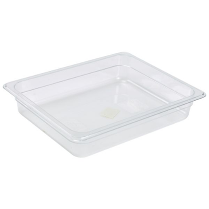 Clear Gastronorm Food Pan 1/2 (65mm Deep)