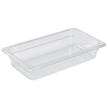 Clear Gastronorm Food Pan 1/3 (65mm Deep)