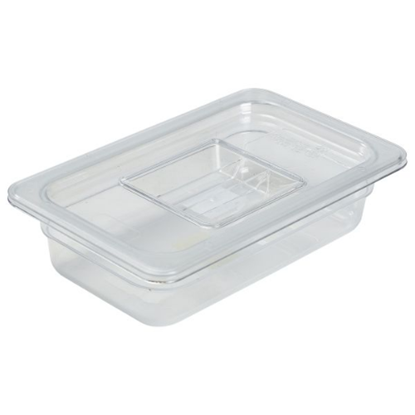 Clear Gastronorm Food Pan 1/4 (65mm Deep)