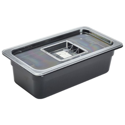 Clear Gastronorm Lid With Handle 1/3