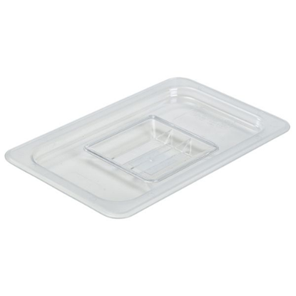 Clear Gastronorm Lid With Handle 1/4