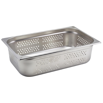 Stainless Steel Perforated Gastronorm 1/1 (150mm Deep)