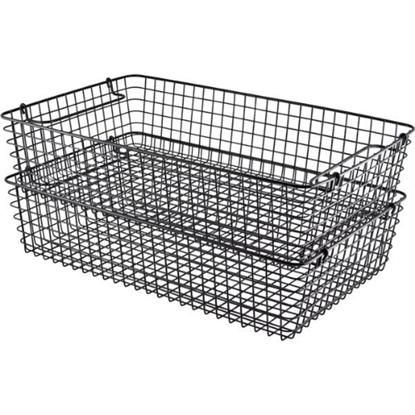 Black Wire Display Basket 1/1