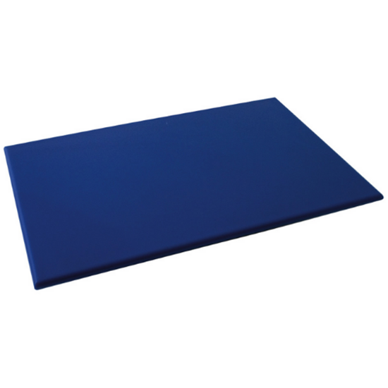 "Blue High Density Chopping Board 23.6x17.7x0.7"" (60x45x1.8cm)"