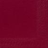"""Bordeaux Napkin 2 Ply 13"""" (33cm)"""