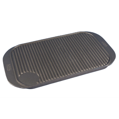 """Cast Iron Reversible Griddle Tray 17"""" (43cm)"""