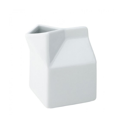 Ceramic Milk Carton 31cl (10.5oz)
