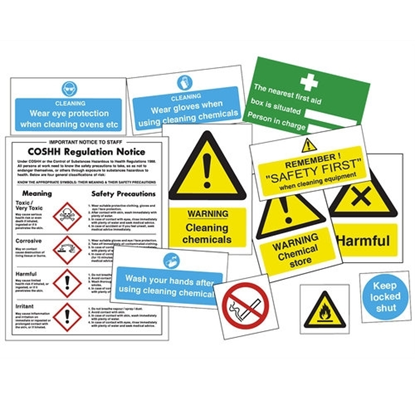 Chemical Use Sign Pack