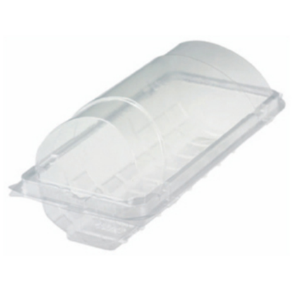 """Clear Plastic Baguette Box 12"""" (30cm)"""