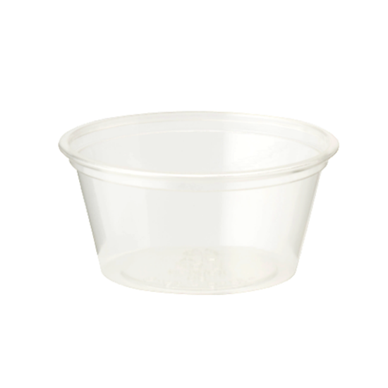 Clear Souffle Container 6cl (2oz)