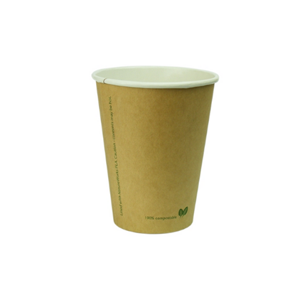 Compostable Natural Brown Kraft Cup 12oz