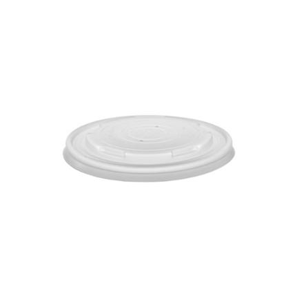 Compostable PLA Deli Container Lid For 2oz/4oz