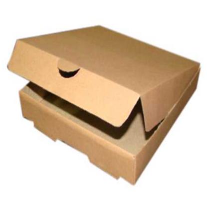 """Corrugated Cardboard Pizza Box 10"""" (25cm)"""