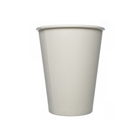 Double Wall Plain White Cup 16oz