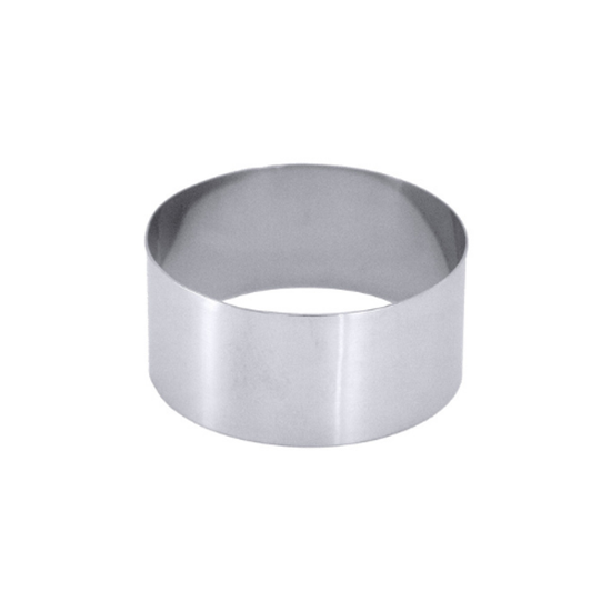 stainless steel mousse ring