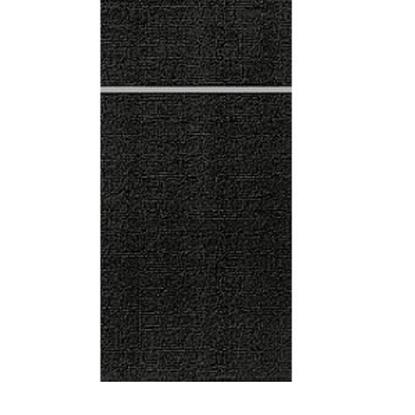 "Black Duniletto Napkins 15.7x18.9"" (40x48cm)"