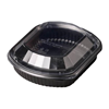 Black One Compartment Container 94.6cl (32oz)