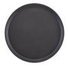 """Black Round Server Tray 14"""" (35cm)"""