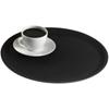 """14"""" (35cm) Black Round Server Tray"""