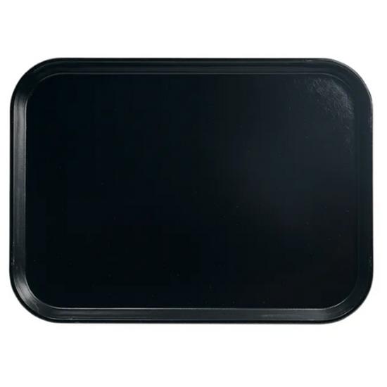 "Black Serving Tray 14x18"" (36x46cm)"