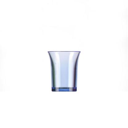 Blue Polystyrene Shot Glass 2.5cl (0.8oz)