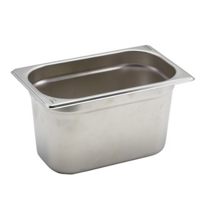 CaterPro Stainless Steel Gastronorm 1/4 (150mm Deep)