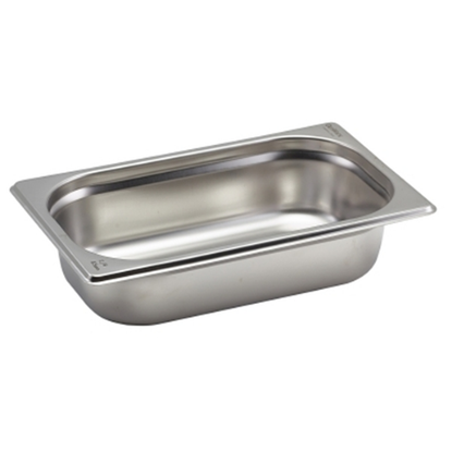 CaterPro Stainless Steel Gastronorm 1/4 (65mm Deep)