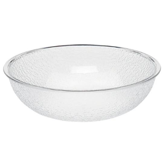 Clear Pebbled Bowl 3L