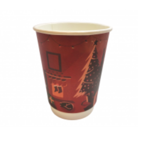 Christmas Printed Cup Red 12oz