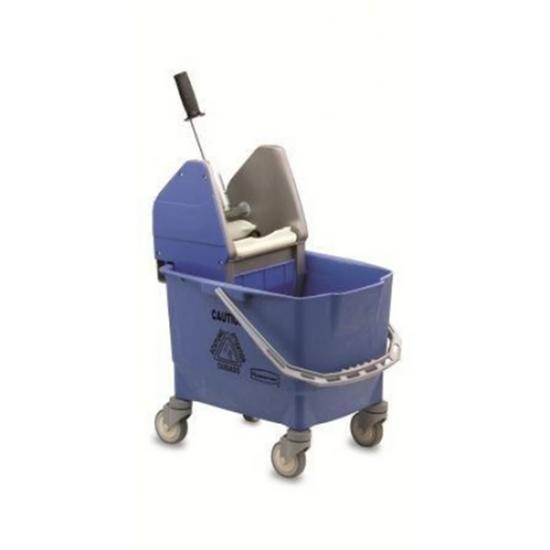 Bravo Blue Mop Bucket & Wringer 25L