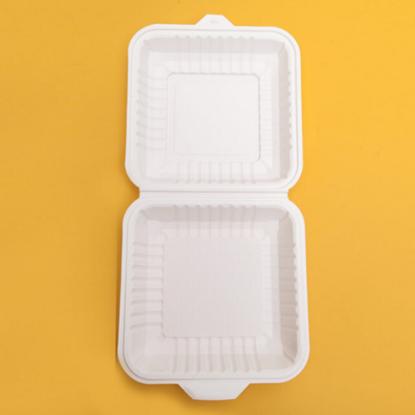 "Burger Box White 15.25cm (6x6"")"