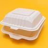 White Burger Box