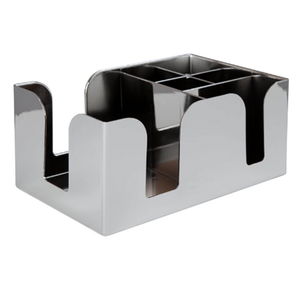 Chrome Effect Bar Caddy