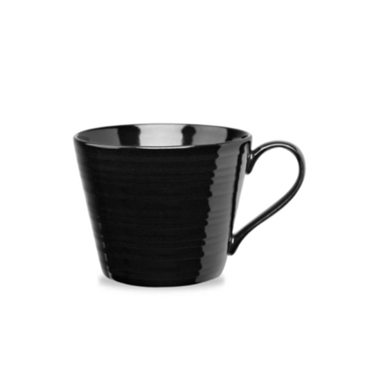 Churchill Art De Cuisine Black Snug Mug 35.5cl (12oz)