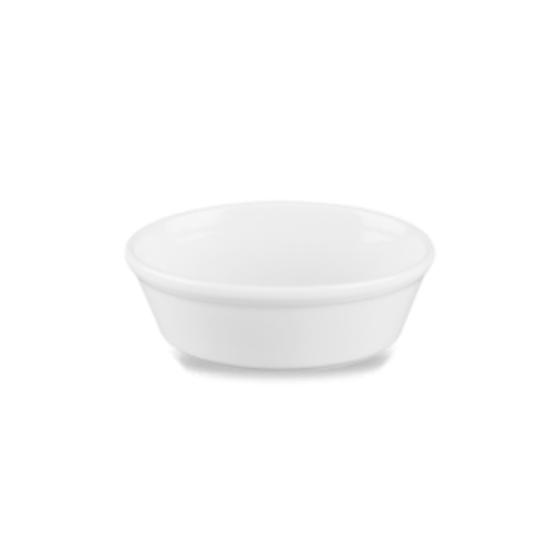 Churchill Cookware White Oval Pie Dish 45cl (15.2oz)