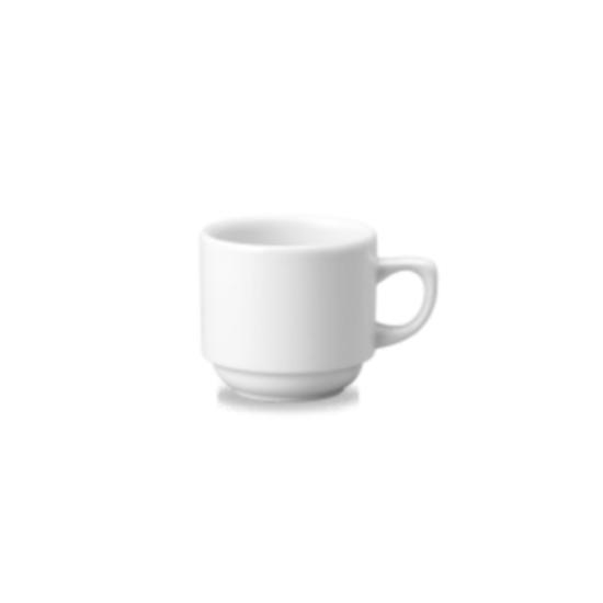 Churchill Maple White Teacup 19.6cl (6.9oz)