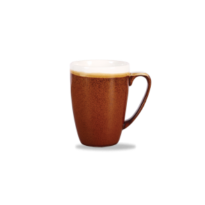 Churchill Monochrome Cinnamon Profile Mug 34cl (12oz)