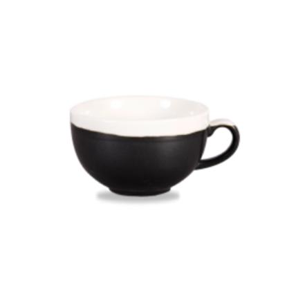 Churchill Monochrome Onyx Cappuccino Cup 34cl (12oz)