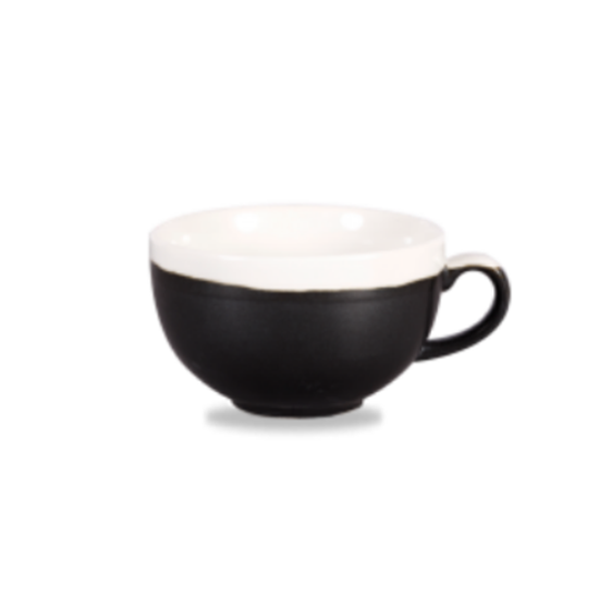 Churchill Monochrome Onyx Cappuccino Cup 34cl (12oz)