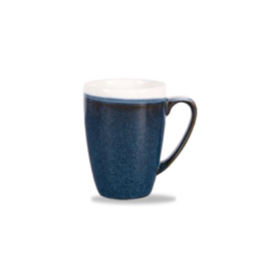 Churchill Monochrome Profile Mug Sapphire Blue 34cl (12oz)