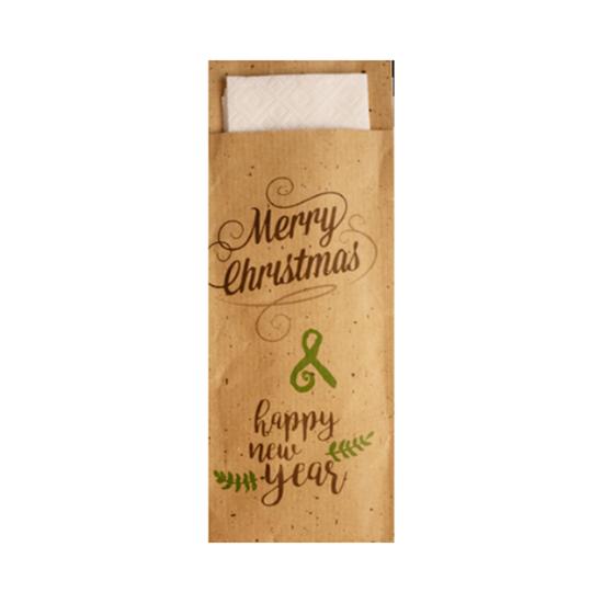 Merry Christmas & Happy New Year Pochette