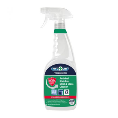 Antiviral Glass And Stainless Steel Cleaner 750ml