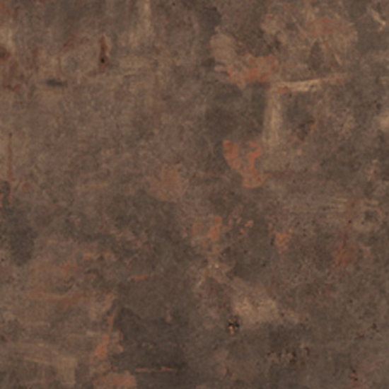 Rust Brown Round Table Top 600mm
