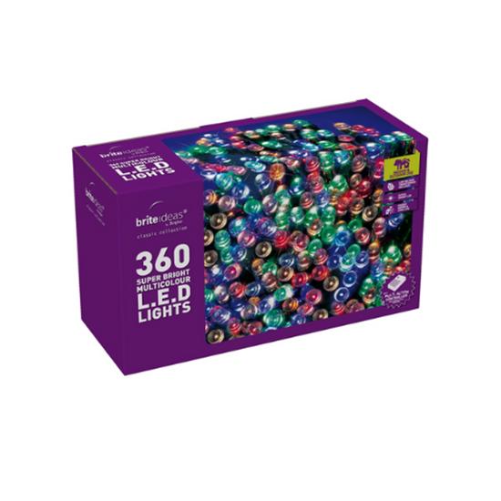 360 Multicoloured LED Multi Function Lights