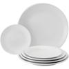 """10.3"""" (26cm)  Apollo White Coupe Plate"""