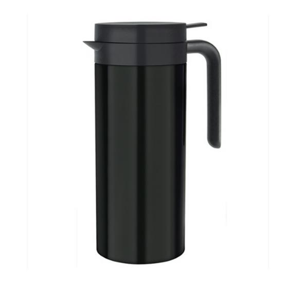 Black Cylindrical Jug 1L