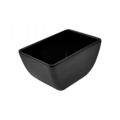 Black Melamine Dover Pot 70cl (23.7oz)