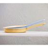 """7.75"""" (20cm) Blue & Cream Enamel Omelette Pan"""