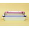 "Blue And Cream Enamel Rectangular Dish 14.2x8.5"" (36x21.5cm)"