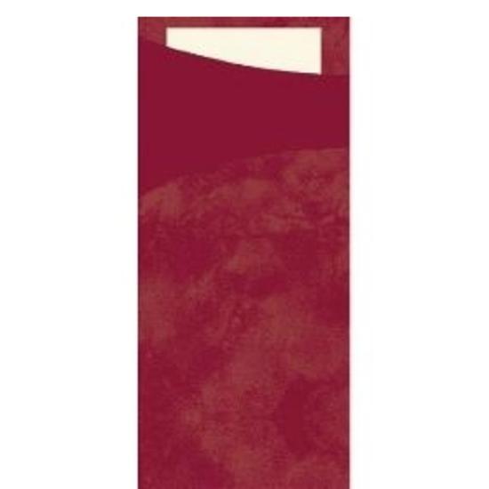 """Bordeaux Sacchettos 7.9x3.3"""" (20x8.5cm)"""